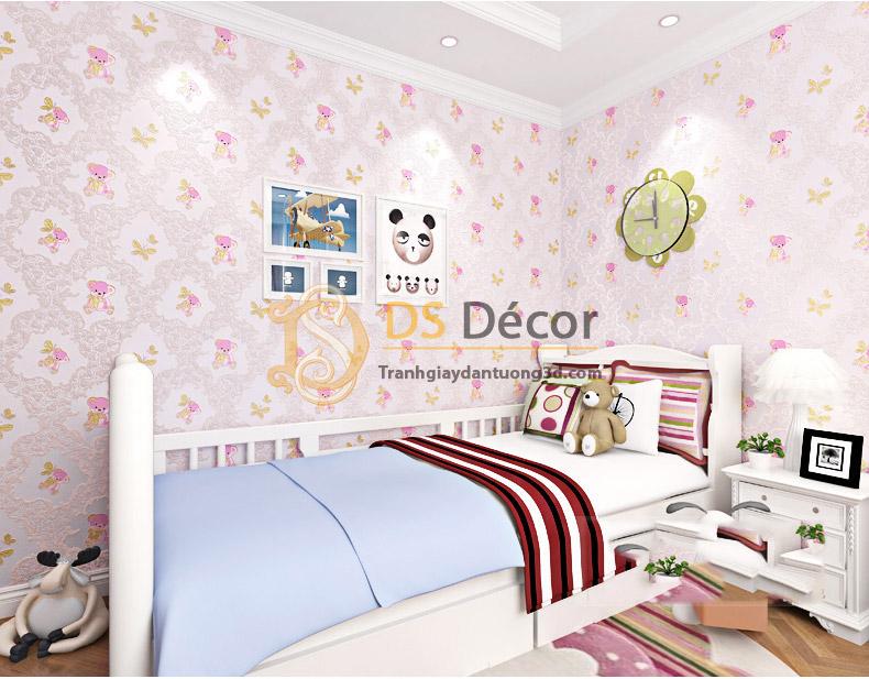 giấy-dán-tường-họa-tiết-gấu-bông-3d070-02