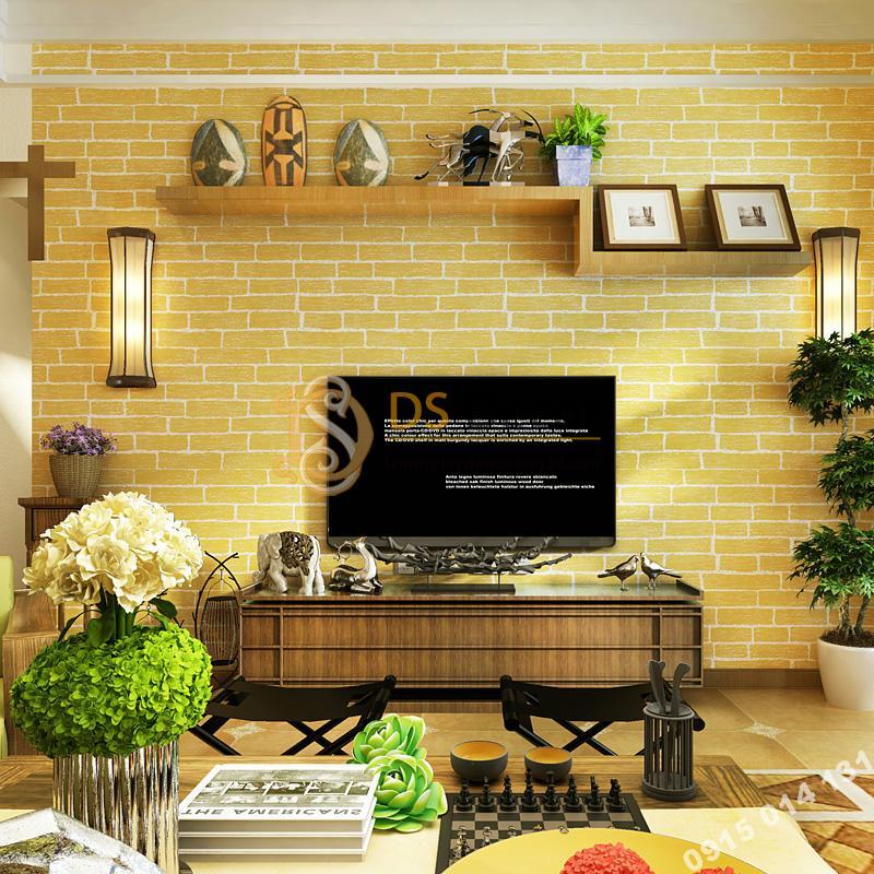 Giay-dan-tuong-gia-gach-vang-trang-tri-phong-khach-3D140-mau-2