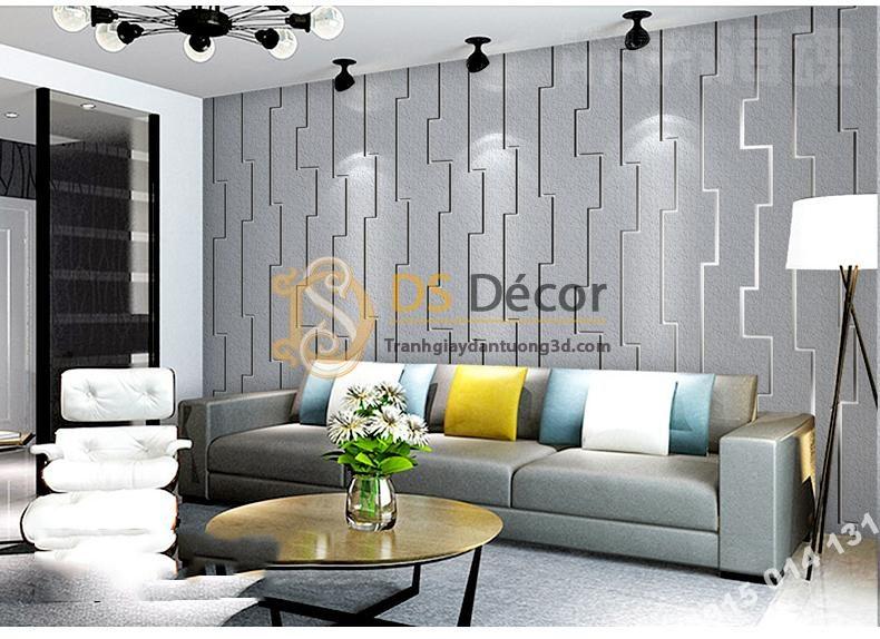 Giấy dán tường giả gạch Bohemian Tây Tạng độc đáo 3D208 màu xanh nhạt phòng ngủ