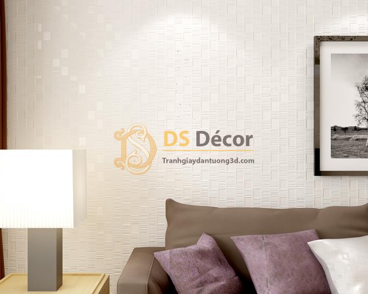 Giấy Dán Tường 3D - Chi Tiết Kẻ Sọc Nhỏ Gọn Độc Đáo 3D001