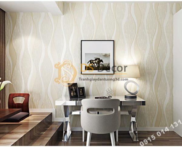 Giấy Dán Tường 3D Họa Tiết Sóng Biển - 3D015