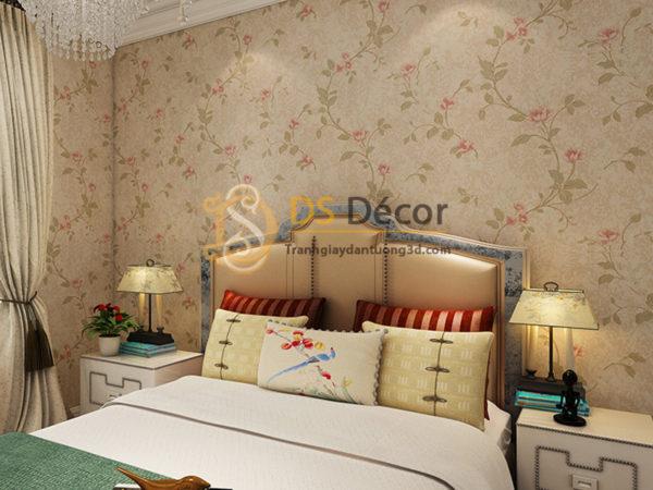 Giấy Dán Tường 3D Họa Tiết Hoa Kiểu Continental Damascus - 3D027