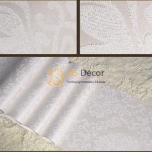 Giấy Dán Tường 3D Hoa Văn Cách Điệu Châu Âu - 3D036