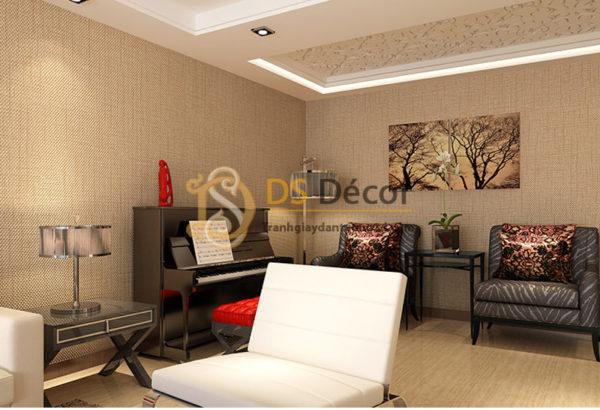 Giấy Dán Tường 3D Sọc Sofa Đơn Giản - 3D032