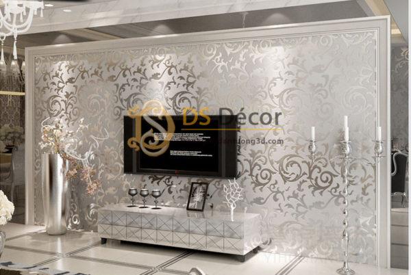 Giấy Dán Tường 3D Hoa Văn Cách Điệu - 3D023