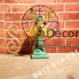 Quạt Con Cóc Cổ Trang Trí Quán Cafe Trà Sữa DC02
