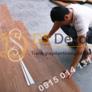 Sàn Nhựa Giả Vân Gỗ PVC Chống Thấm Mài Mòn SG1