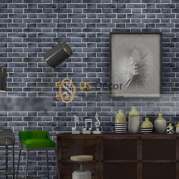 Giấy Dán Tường 3D Họa Tiết Giả Gạch 3D006