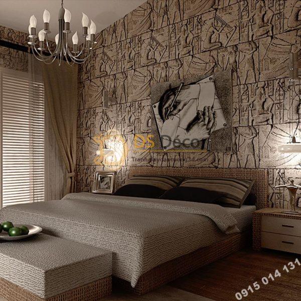 Giấy Dán Tường Hình Pharaoh Ai Cập 3D175