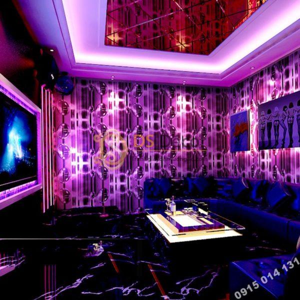 Giấy Dán Tường Họa Tiết Bong Bóng Nước Cho Quán Karaoke 3D185