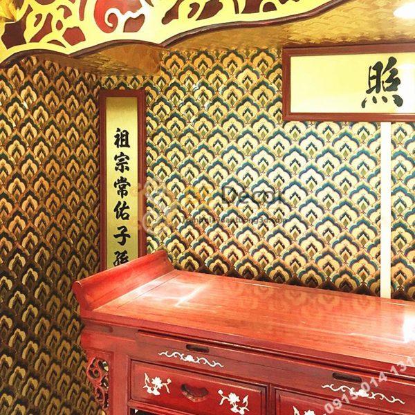 Giấy Dán Tường Họa Tiết Phật Giáo Trang Trí Đền Chùa Phòng Thờ 3D195