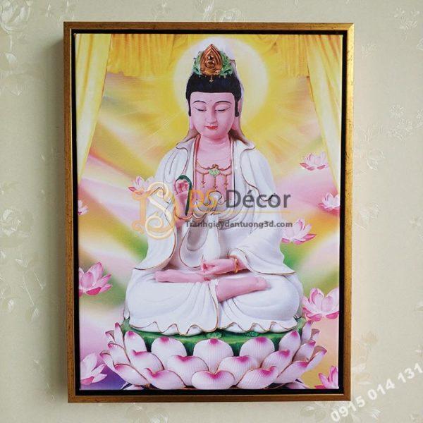 Tranh Phật Treo Tường Cầu Bình An Hạnh Phúc TP01