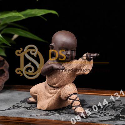 Tượng Kungfu Kid Trang Trí DTT06