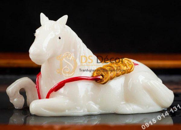 Tượng Ngựa Mã Đáo Phát Tài Đổi Màu Độc Đáo DTT07