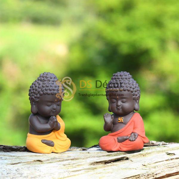 Tượng Phật Tổ Như Lai Nhỏ Trang Trí DTT09