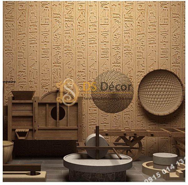 Giấy Dán Tường Họa Tiết Ai Cập Cổ Đại 3D261